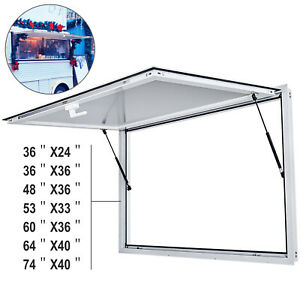 36 48 53 60 64 74 concession Stand Trailer Serving Window Awning Food Truck