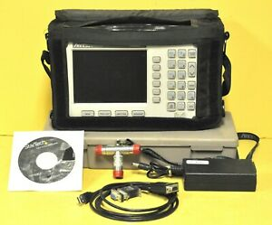 Anritsu S331d Sitemaster Cable Antenna Analyzer Option 3 Color Screen Kit