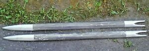 1958 Chevrolet Impala Fender Spears Pair Nice No Dings