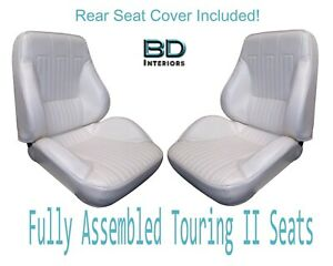 1968 Lemans Gto Convertible Touring Ii Front Seats Assembled Rear Seat Cover