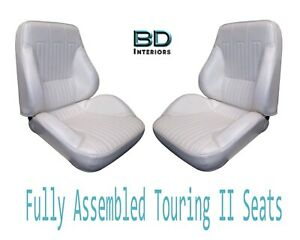 1968 Lemans Gto Touring Ii Front Bucket Seats Assembled Any Color