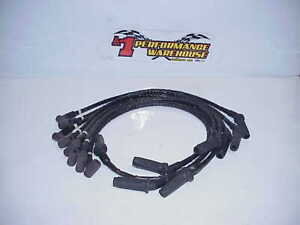 8 Delphi 8 8 Mm Ignition Spark Plug Wires With Heat Shield Hei Nhra Nascar