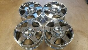 20 Chevy Silverado 8x6 5 Gmc Sierra 2500hd Factory Wheels Chrome