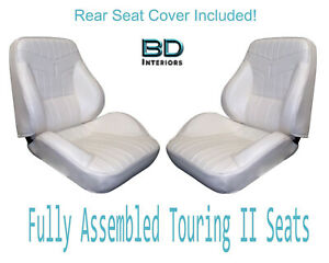 1969 Lemans Gto Coupe Touring Ii Bucket Seats Standard Rear Upholstery Cover