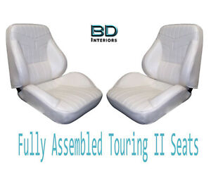 1969 Lemans Gto Touring Ii Front Bucket Seats Assembled Any Color