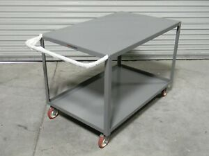 Little Giant Heavy Duty Service Cart 1200 Lb Cap 48 X 30 X 35 Lg 3048 brk