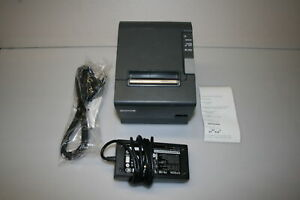 Epson M129m Tm t88iv Usb Thermal Pos Receipt Printer With Power Adapter