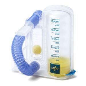 Volumetric incentive Spirometer 5000 Ml Volumetric Exerciser For Lungs 1 Each