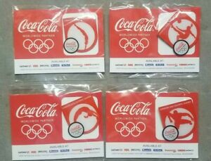 2012 Coca Cola Olympic Pin Set Safeway Vons Soccer Gymnastics Diving Track Field