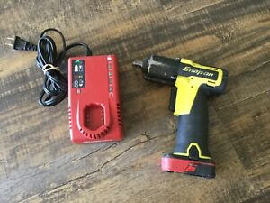 Snap On Ct761 14 4v 3 8 Drive Cordless Yellow Impact Wrench Battery