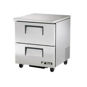 True Tuc 27f d 2 hc Single Section Undercounter Freezer With Drawers