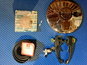 Vintage Vw Beetle air cooled Late 60 s Early 70 s Exterior Trim Parts Lot