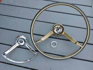 Rambler Steering Wheel And Horn Ring Complete Assembly