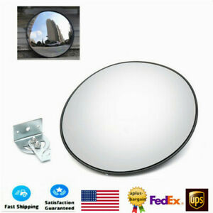 30cm Wide Angle Convex Mirror Outdoor Road Traffic Driveway Convex Mirror Hot