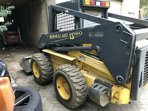 Used New Holland Ls180 800 Hours Ready To Work jackhammer Sold Separately