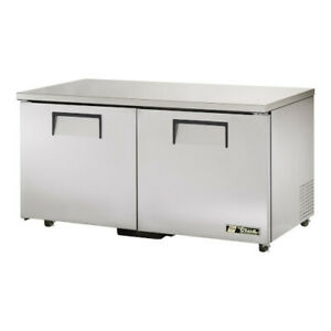 True Tuc 60 ada hc Ada Compliant Two Section Solid Undercounter Refrigerator