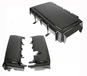 2005 2010 Ford Mustang Gt V8 Carbon Fiber Engine Plenum Fuel Rail Covers