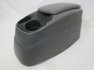 97 03 Ford F150 Center Console Armrest Box Grey