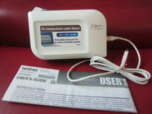 Brother P touch Pt 1230pc Electronic Labeling System Thermal Label Printer Ec