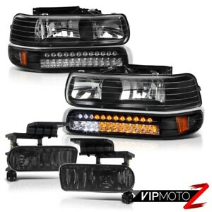 00 06 Suburban Tahoe 99 02 Silverado L e d Headlights Signal Parking Fog Lights