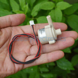 Mini Dc 12v Mute Brushless Water Pump Submersible Impeller Centrifugal Pump