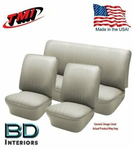1956 1964 Vw Volkswagen Bug Beetle Convertible Off White Seat Upholstery