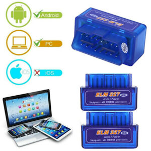 Elm327 V2 1 Odb2 Odb Ii Bluetooth Car Auto Diagnostic Scan Scanner Tool New