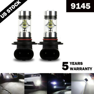 9145 9140 Led Fog Lights Bulb Kit For Ford F 150 1999 2017 F 250 2001 2015 6000k
