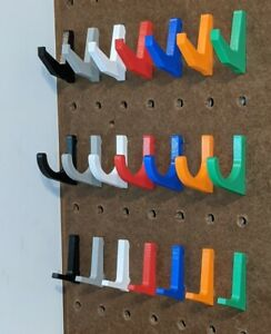 Pegboard Hooks Supreme Fit Will Not Fall Out