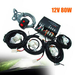Emergency Strobe Light Hid Hide Away Flash Light Rear Front Light Corner Light
