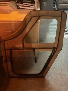 Jeep Cj5 55 75 Full One Piece Soft Door Set See Ad Free Shipping