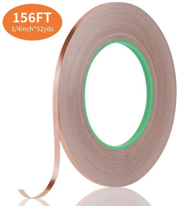 Tifanso Copper Foil Tape Conductive Tape With Double Sided For Emi Shielding El