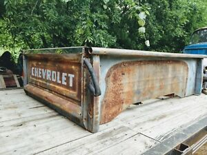 1955 1956 1957 1958 1959 Chevy Truck Short Bed Box With Fenders 1960 61 62 63 66