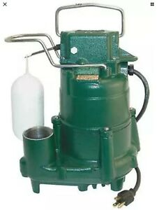 Zoeller D98 1 2 Hp Cast Iron Submersible Sump Pump W Vertical Float Switch