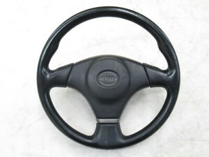 Jdm Toyota Altezza Sxe10 Lexus Rs200 Oem Leather Steering Wheel Ship Free