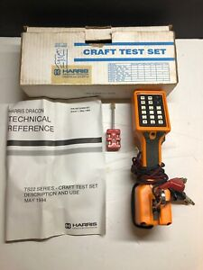 Harris Ts22 A Telephone Test Set With Original Box And Manual