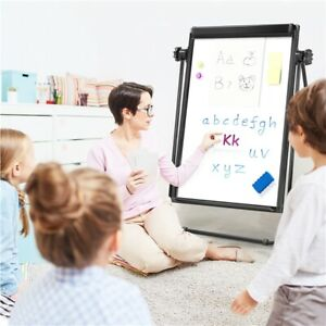 Stand Whiteboard 24 X 36 White Board Double Sided Whiteboard Height Adjustable