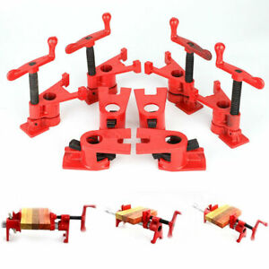 4 Set 3 4 Quick Release Heavy Duty Wide Base Iron Clamp Woodworking Workbench