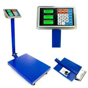 Commercial Scales Digital Platform Postal Scale Electronic Weight 4 4 660lbs