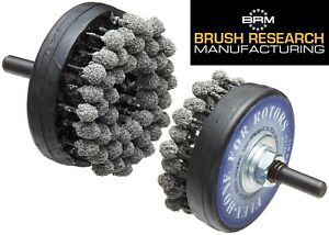 Brush Research Flex hone For Brake Rotors Medium 120 Grit New Free Shipping Usa