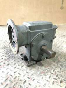 Right Angle Worm Gear Speed Reducer 30 1