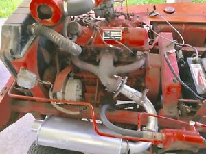 Ford 1 1 Industrial Engine Fits Mustang Bobcat Skid Steer