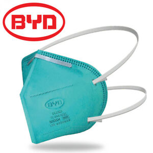 5 10pcs Byd De2322 N95 Protective Disposable Face Mask Cover Kn95 Niosh Approved
