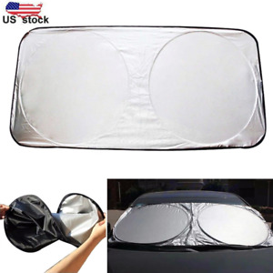Us Auto Car Front Rear Window Foldable Visor Sun Shade Windshield Cover Block