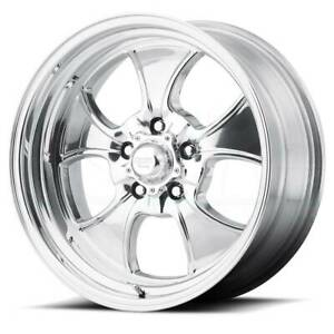 16x7 Polished Wheels American Racing Vn450 Hopster 5x114 3 0 Set Of 4