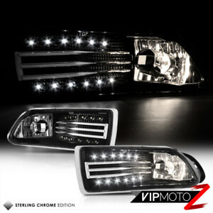 2005 2010 Scion Tc Fog Lights Lamps Set W Led Driving Drl Wiring Switch Assembly