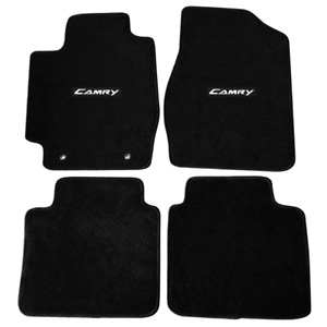 Fit For 02 06 Toyota Camry Black Nylon Floor Mats Carpets W Camry
