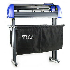 Titan 2 Uscutter 28 Vinyl Cutter With Basket Stand And Cut Software