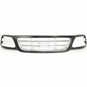 New For Ford F 150 Pickup Front Grille Fits 1997 2004 3l3z8200da Fo1200376
