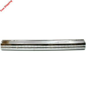 New For Jeep Cherokee Comanche Wagoneer Fits 1984 1996 Front Bumper Chrome